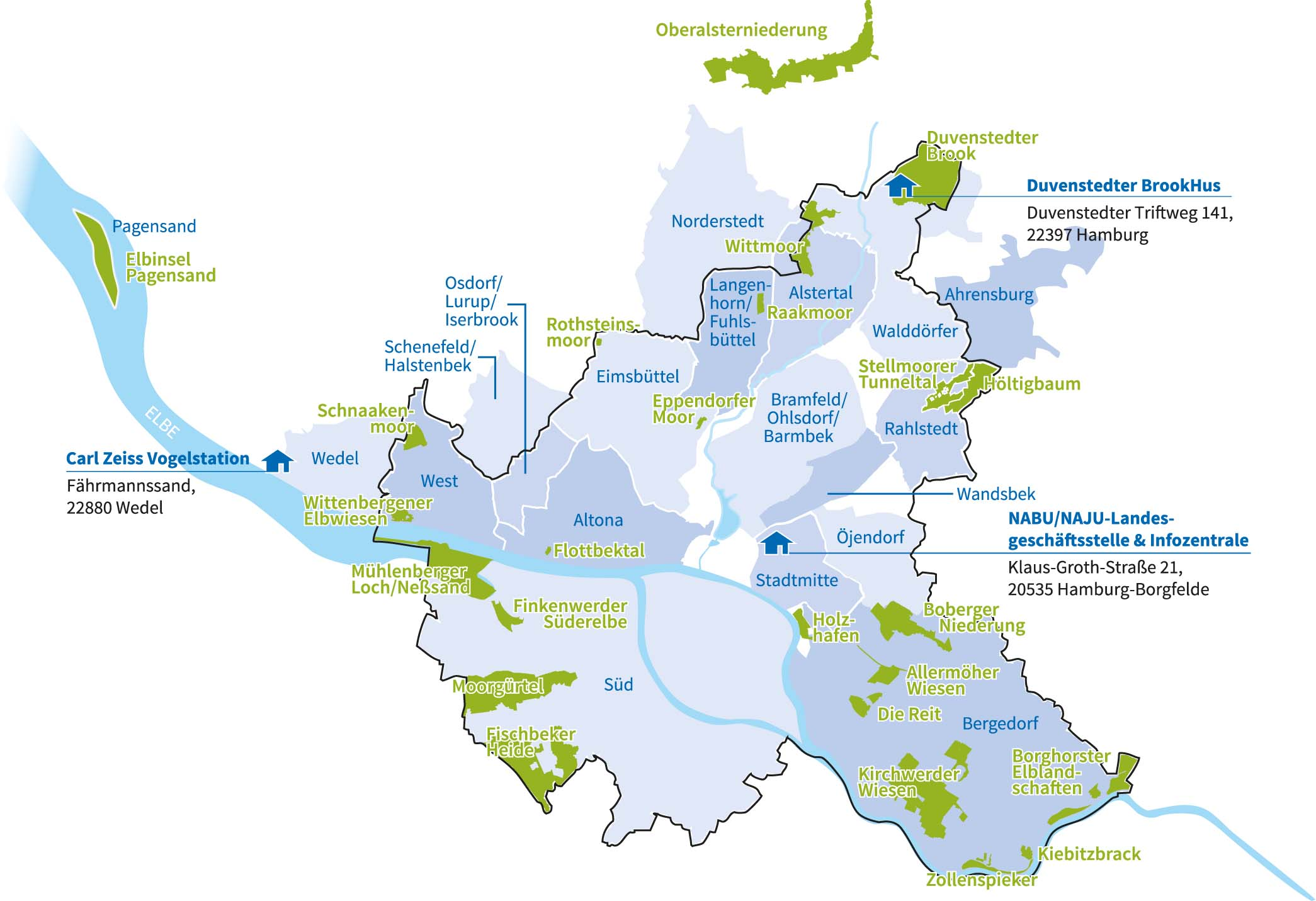 Schutzgebiete Nabu Hamburg