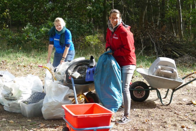 Coastal Cleanup Camp 2018 - Foto: NAJU Hamburg