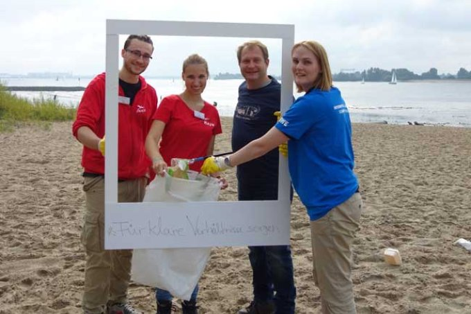 Coastal Cleanup Day in Hamburg - Foto: Malte Siegert